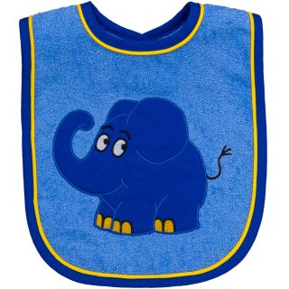 Lätzchen Elefant, blau
