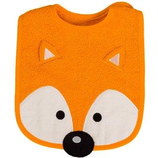 Lätzchen Fuchs orange, 24 x 24