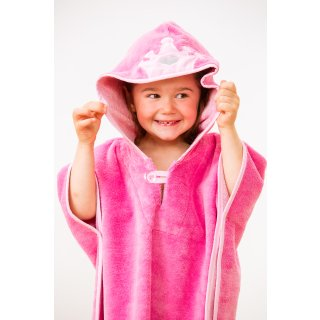 Badeponcho Superflausch, pink, 55x70
