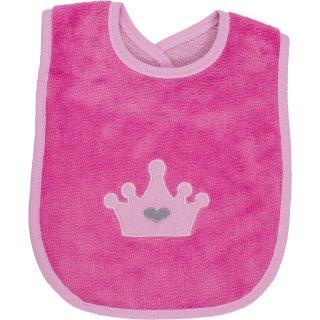 Lätzchen Superflausch pink, 24x24