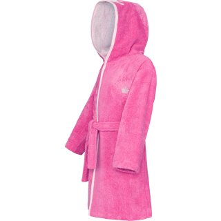 Bademantel Superflausch, pink 128