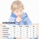 """Smithy Kinderbademantel """"blauer Elefant"""" aus Baumwolle"""