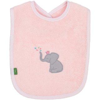 Lätzchen Elefant, rosa