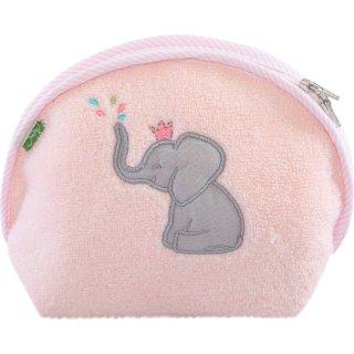 Waschtasche Elefant, rosa